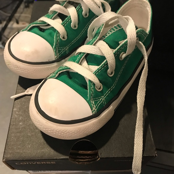 0975f2715741 Converse Other - Green used converse size 10 in toddler.